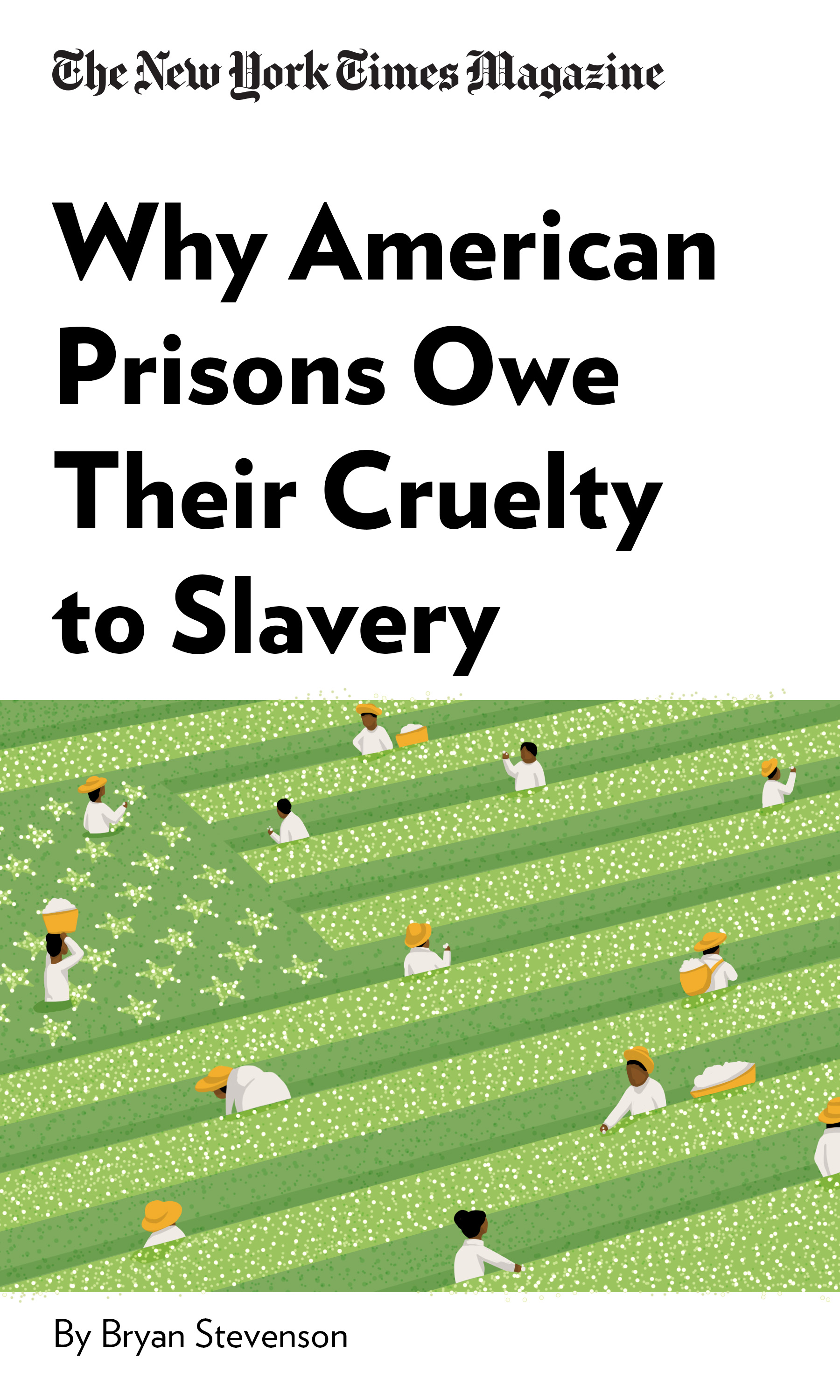 """Book Cover for """"Why American Prisons Owe Their Cruelty to Slavery"""""""