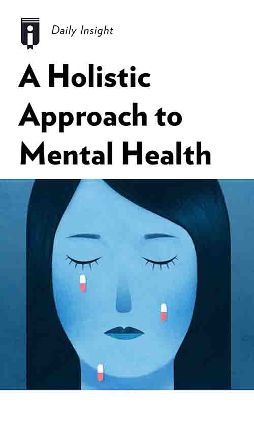 "Book Cover for ""A Holistic Approach to Mental Health"""
