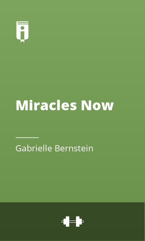 """Book Cover for """"Miracles Now"""""""