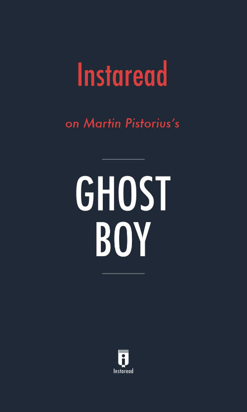 "Book Cover for ""Ghost Boy"""