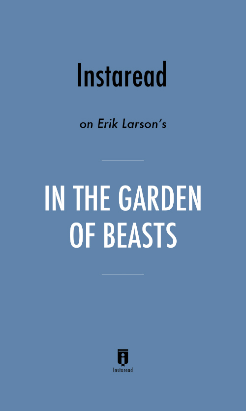 "Book Cover for ""In the Garden of Beasts"""