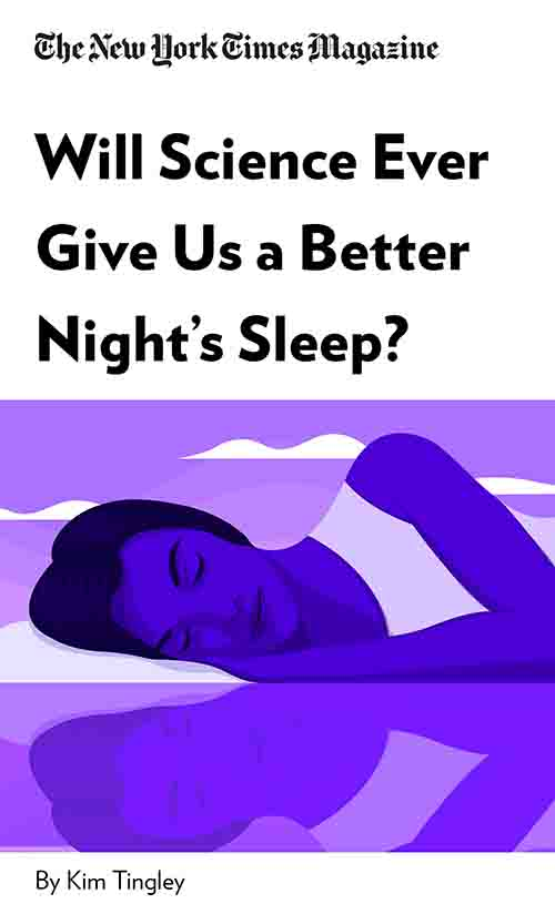 "Book Cover for ""Will Science Ever Give Us a Better Night's Sleep?"""