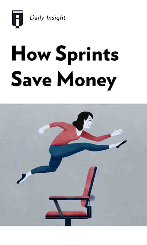 "Book Cover for ""How Sprints Save Money"""