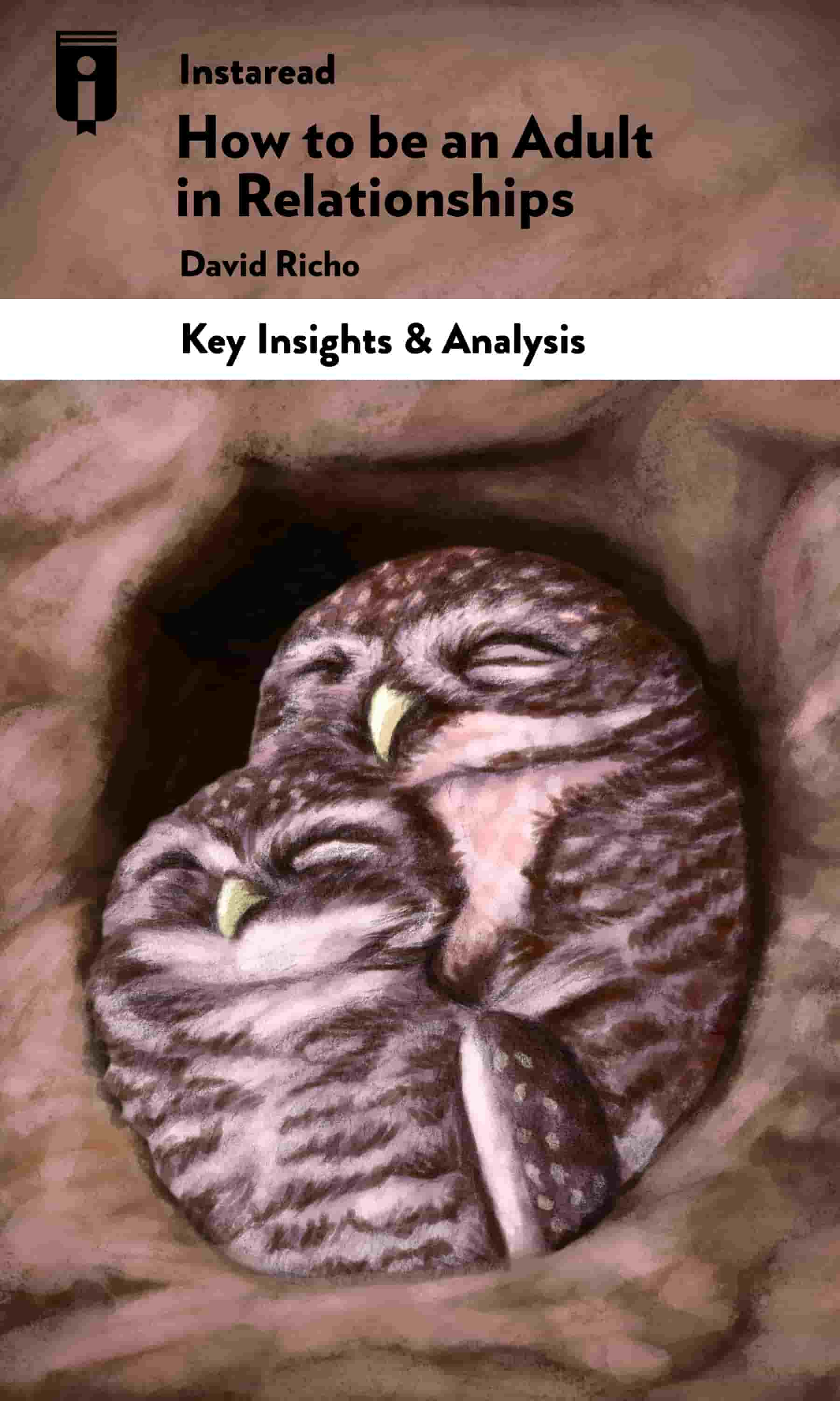 """Book Cover for """"How to Be an Adult in Relationships"""""""