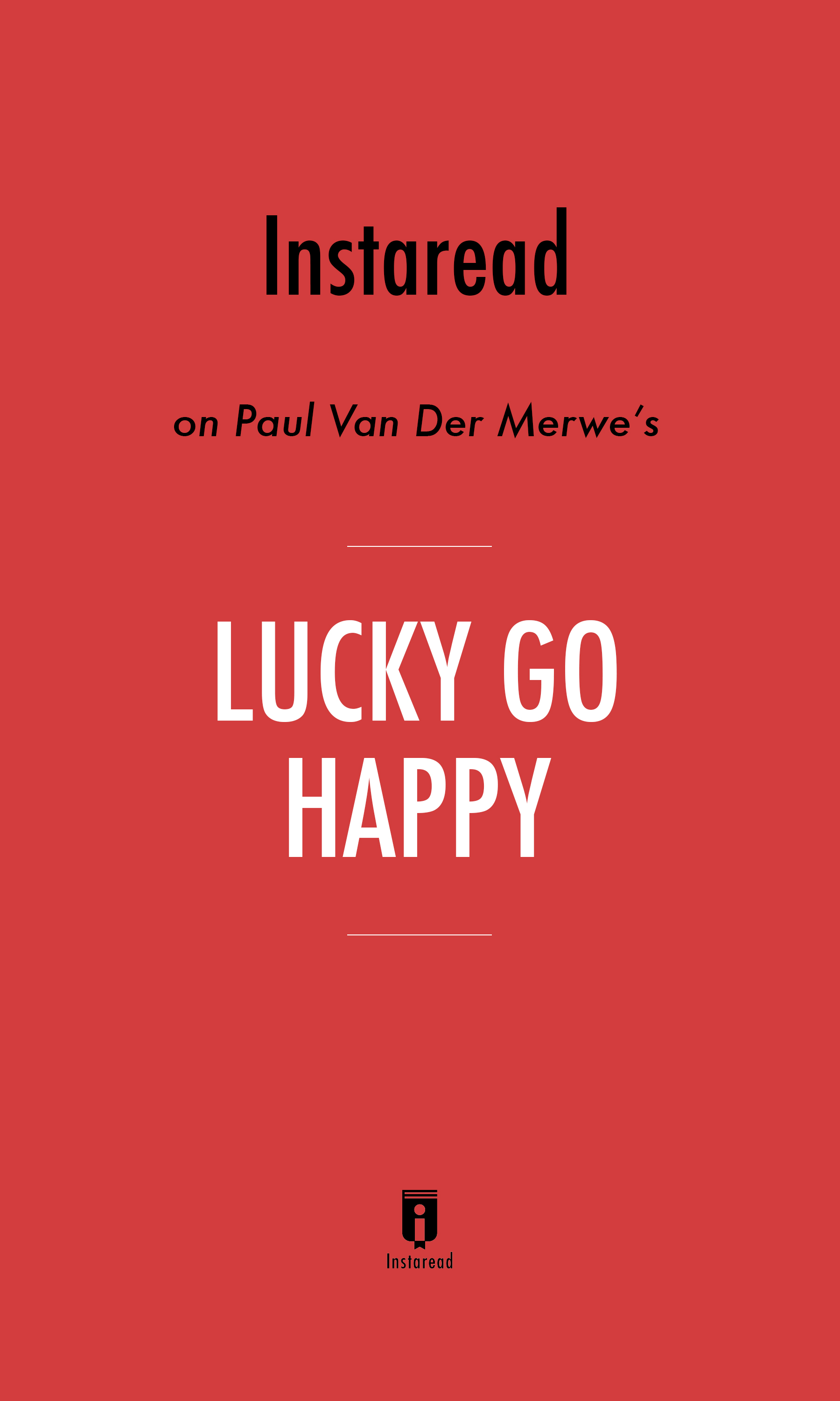 "Book Cover for ""Lucky Go Happy"""