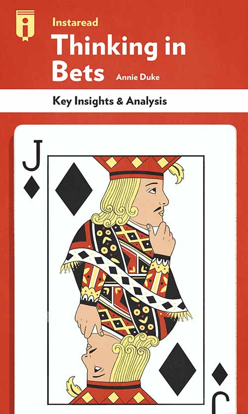 "Book Cover for ""Thinking in Bets"""
