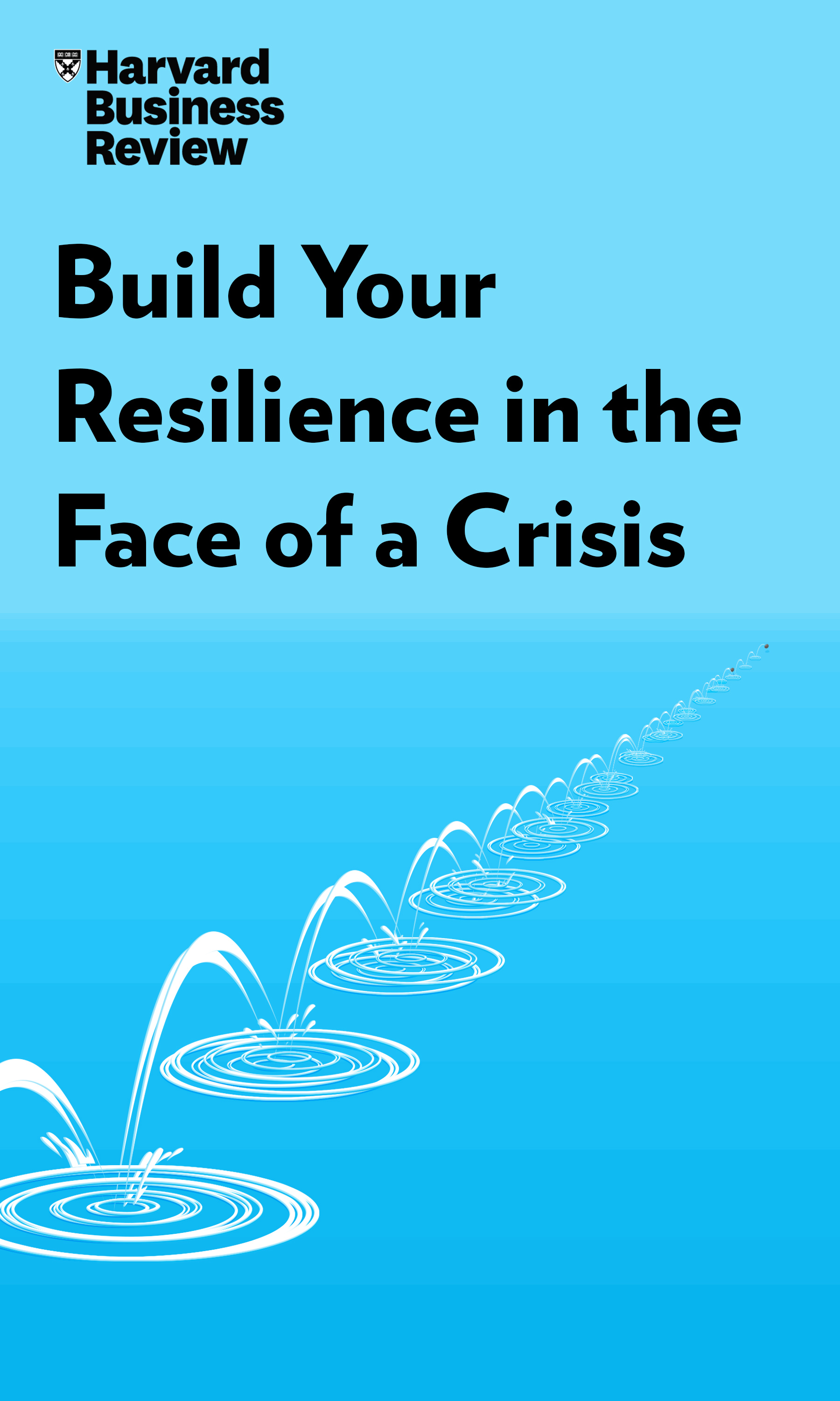 "Book Cover for ""Build Your Resilience in the Face of a Crisis"""
