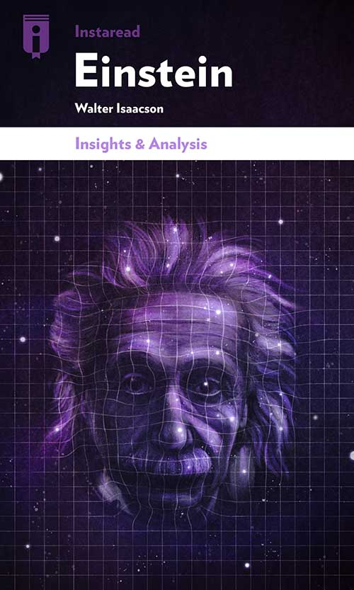 "Book Cover for ""Einstein"""
