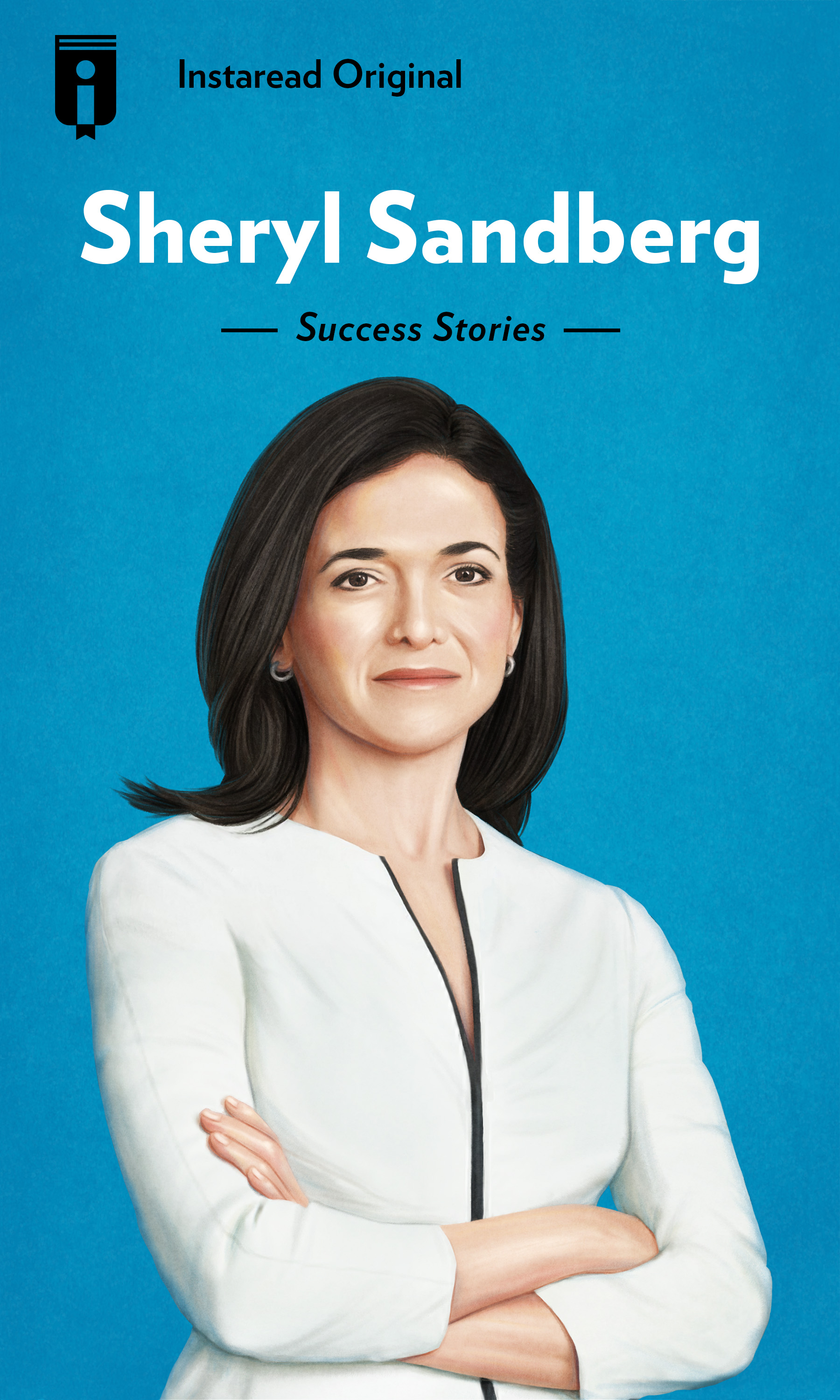 "Book Cover for ""Sheryl Sandberg"""