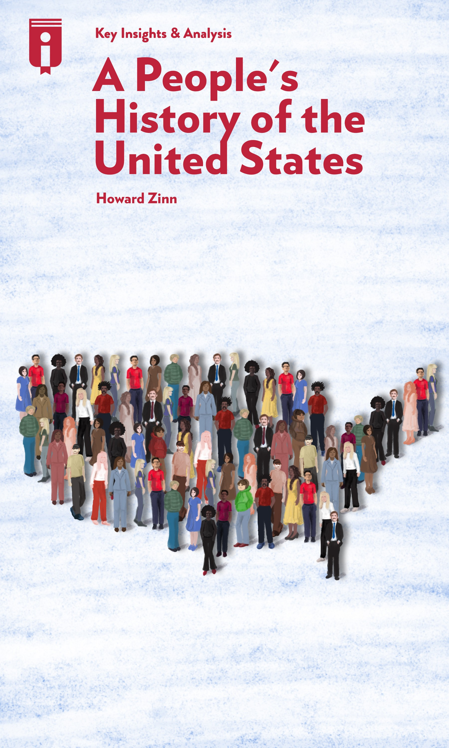 """Book Cover for """"A People's History of the United States"""""""