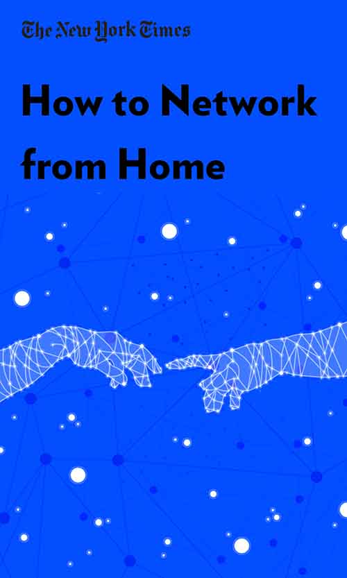"Book Cover for ""How to Network From Home"""