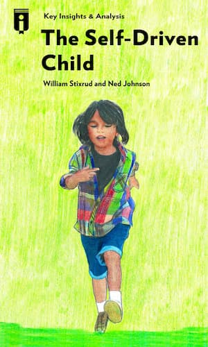 """Book Cover for """"The Self-Driven Child"""""""