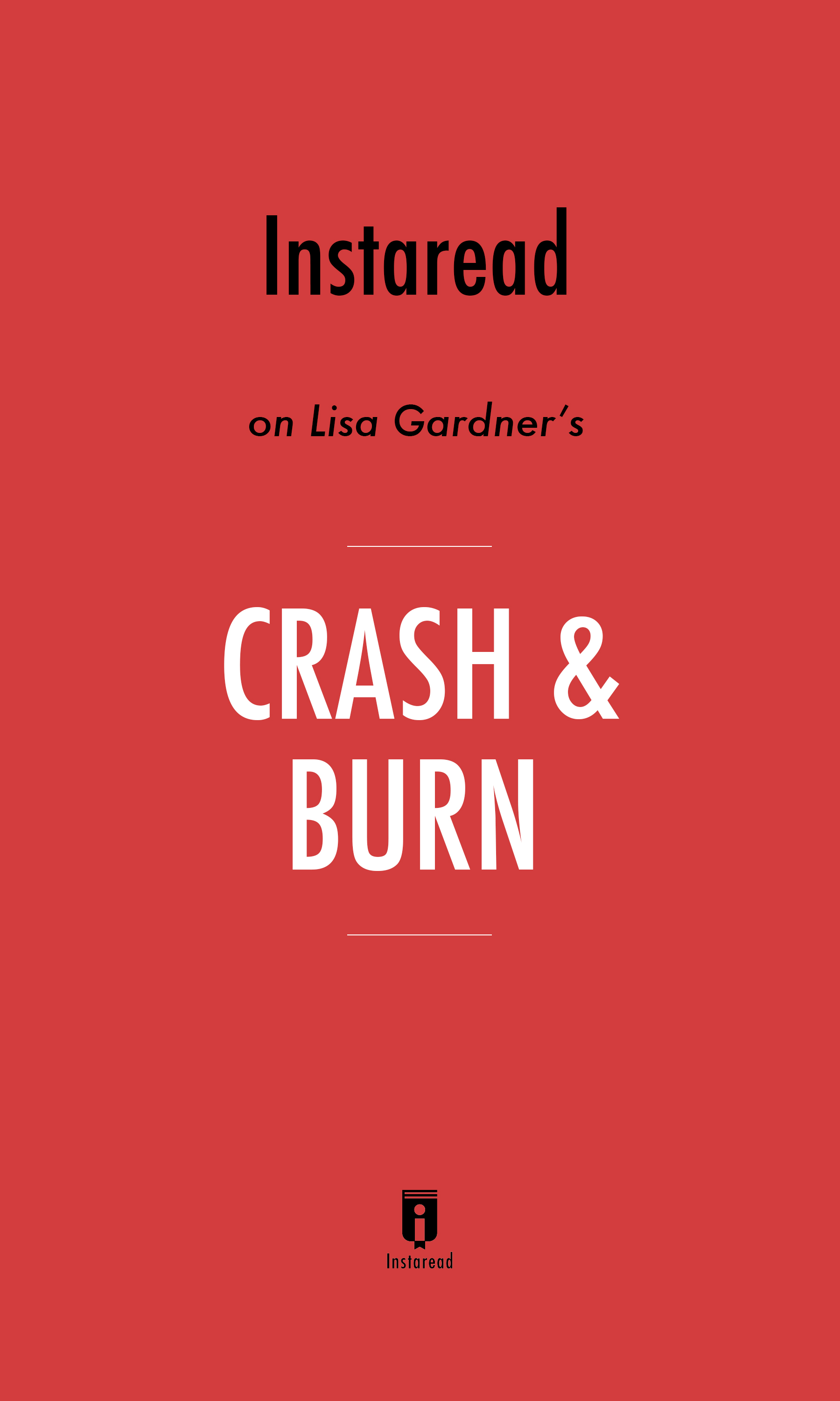 "Book Cover for ""Crash & Burn"""