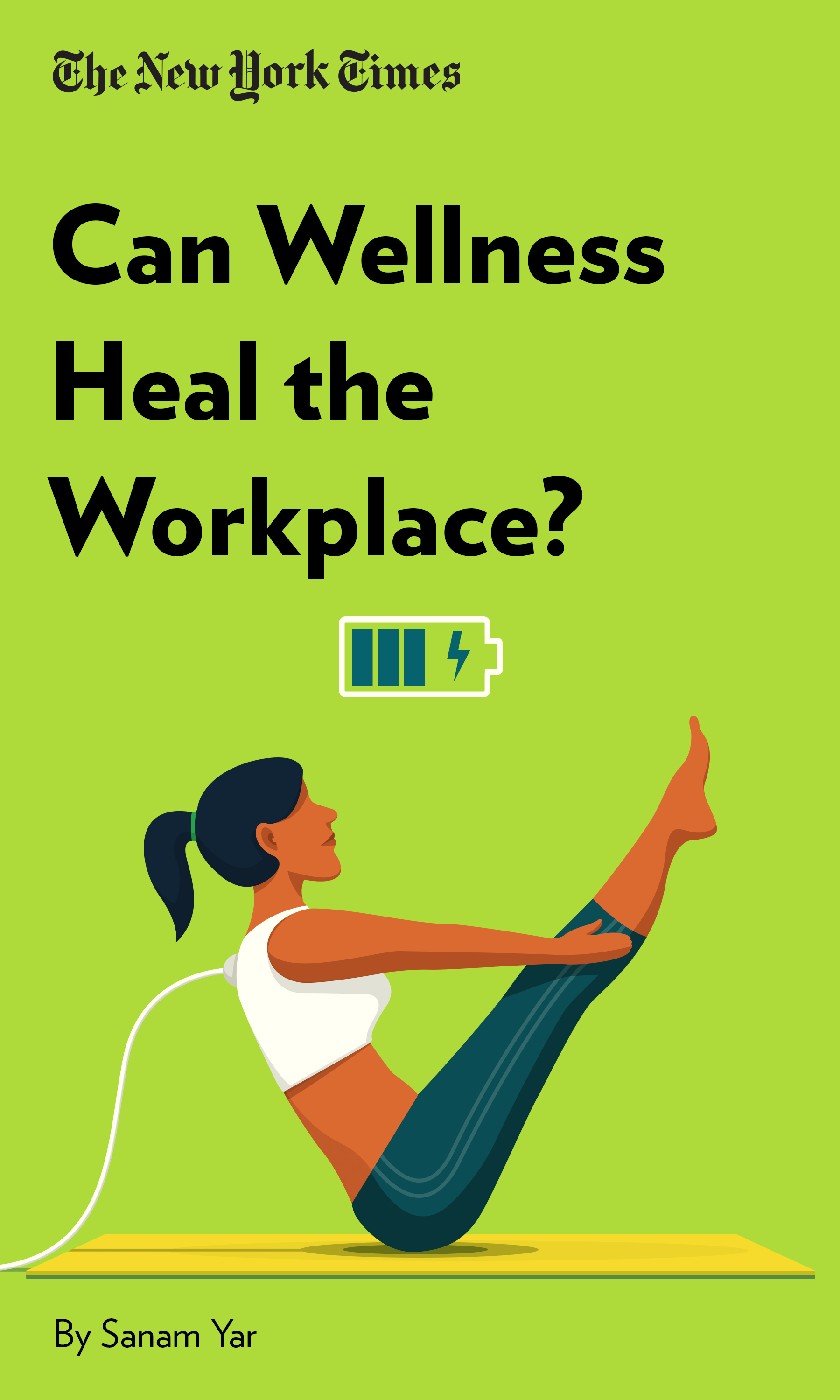 """Book Cover for """"Can Wellness Heal the Workplace?"""""""