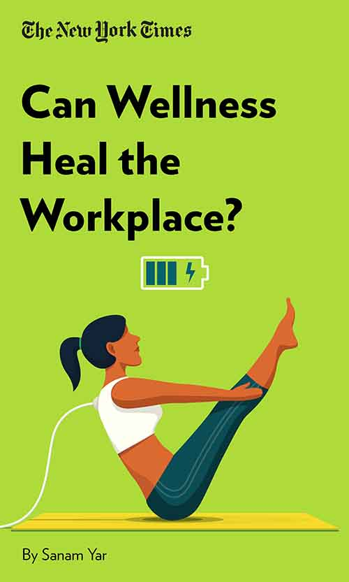 "Book Cover for ""Can Wellness Heal the Workplace?"""