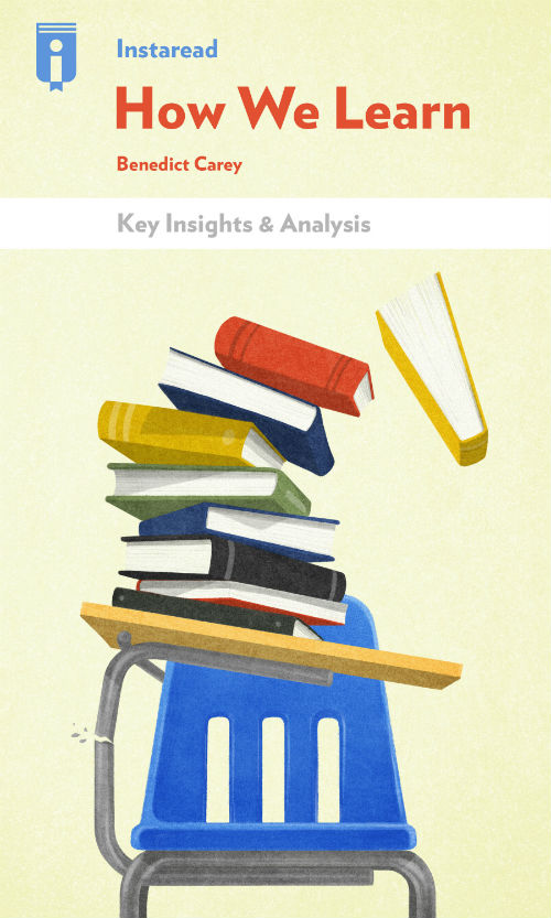 """Book Cover for """"How We Learn"""""""