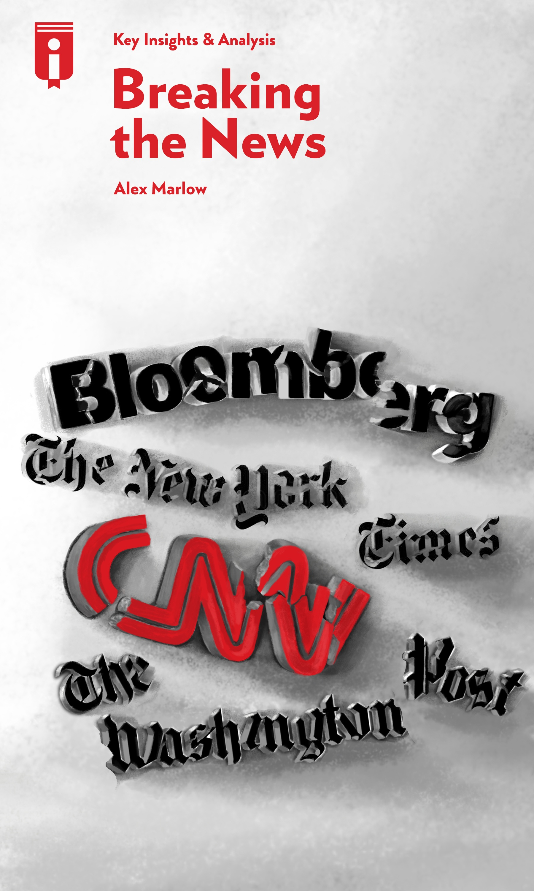 """Book Cover for """"Breaking the News"""""""
