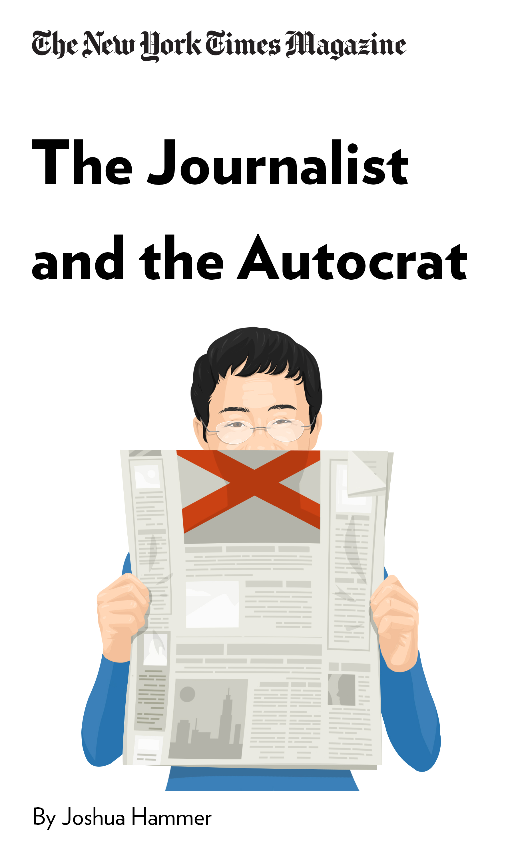 """Book Cover for """"The Journalist and the Autocrat"""""""
