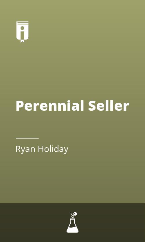 "Book Cover for ""Perennial Seller"""