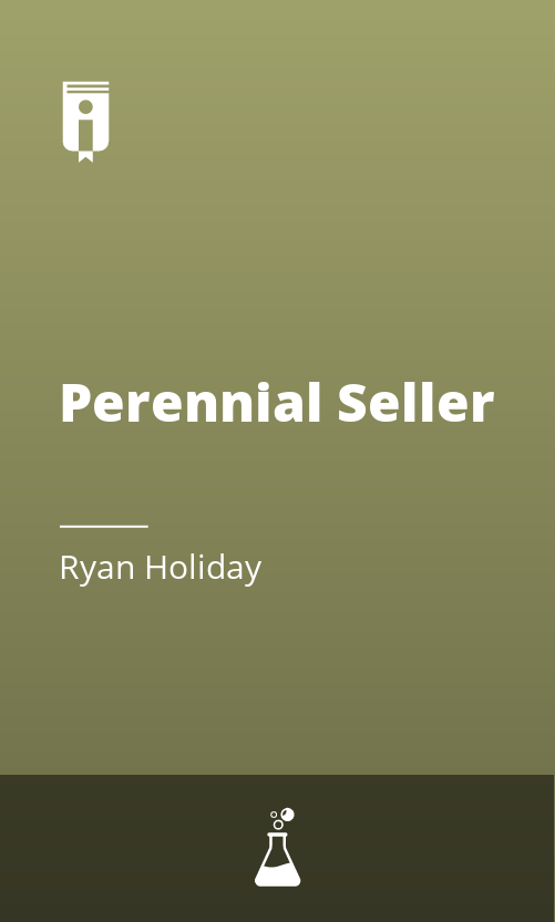 "Book Cover for ""Perennial Seller"""