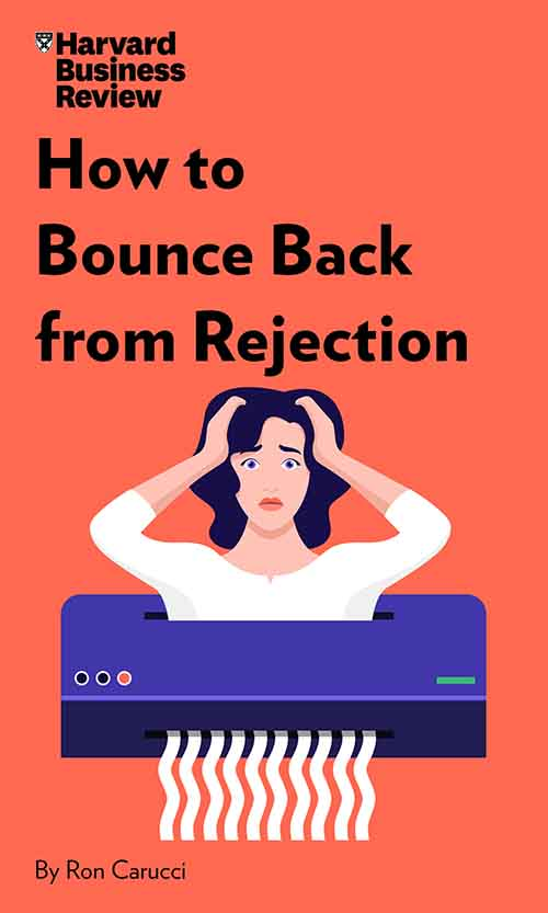 "Book Cover for ""How to Bounce Back from Rejection"""