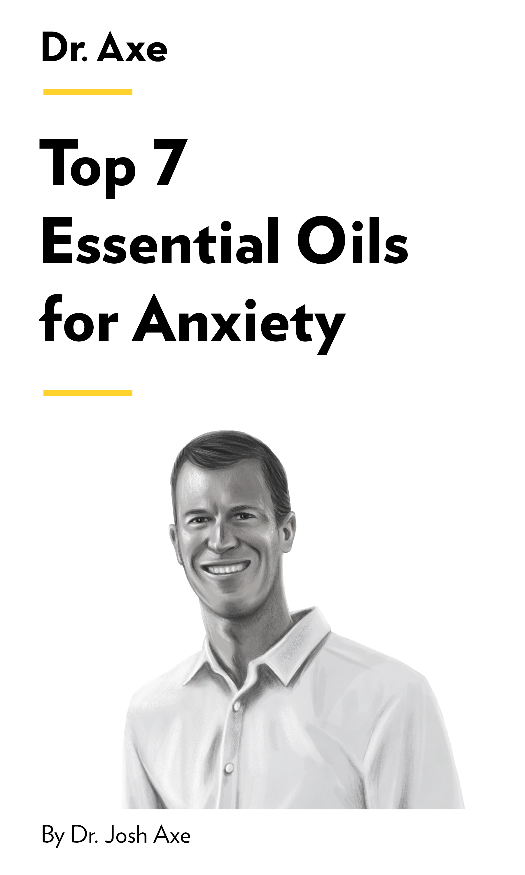 """Book Cover for """"Top 7 Essential Oils for Anxiety"""""""