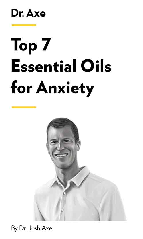 "Book Cover for ""Top 7 Essential Oils for Anxiety"""