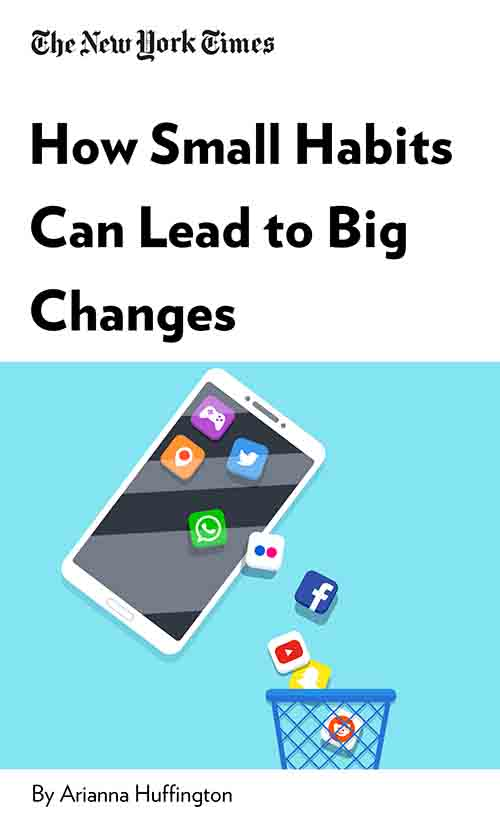 "Book Cover for ""How Small Habits Can Lead to Big Changes"""