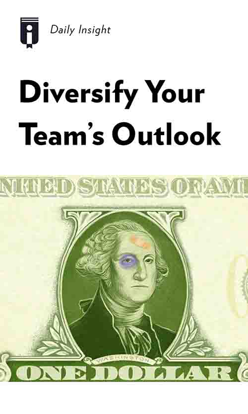 "Book Cover for ""Diversify Your Team"