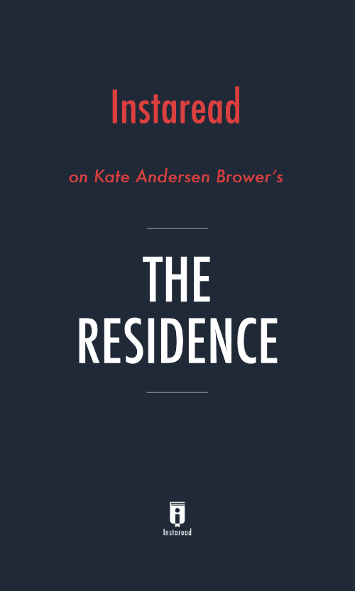 "Book Cover for ""The Residence"""