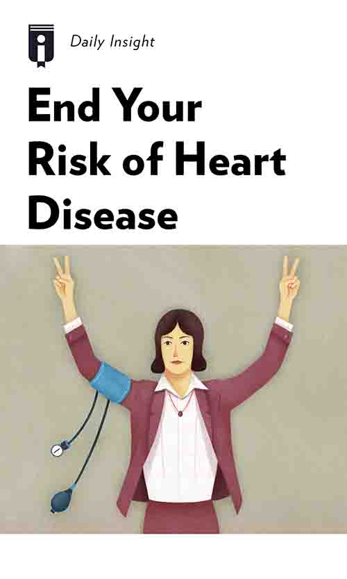 "Book Cover for ""End Your Risk of Heart Disease"""