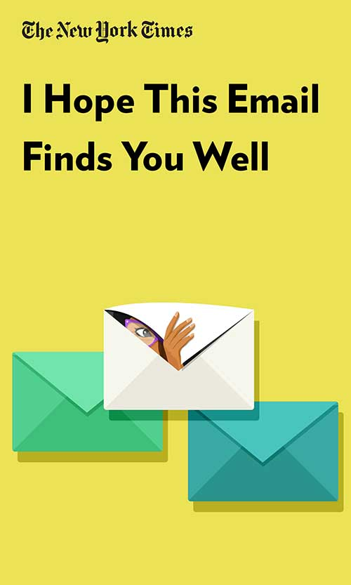 "Book Cover for ""I Hope This Email Finds You Well"""