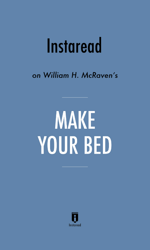 "Book Cover for ""Make Your Bed"""