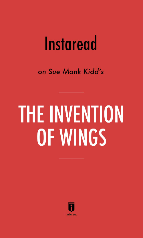 "Book Cover for ""The Invention of Wings"""