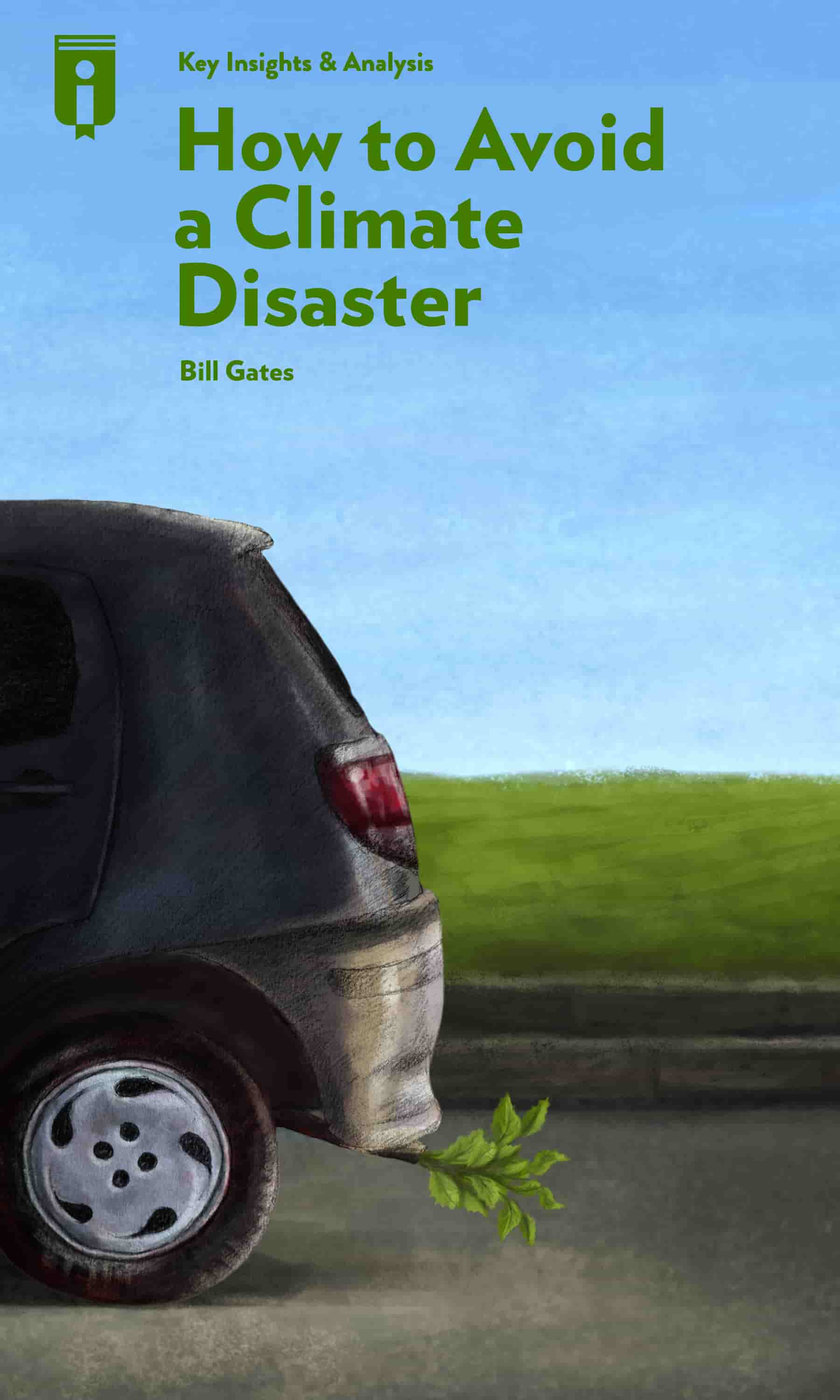 "Book Cover for ""How to Avoid a Climate Disaster"""