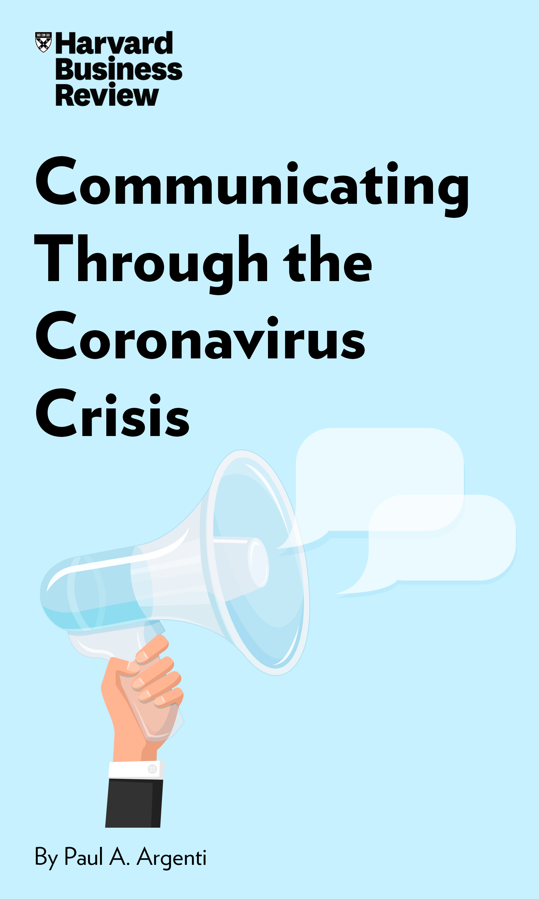 "Book Cover for ""Communicating Through the Coronavirus Crisis"""