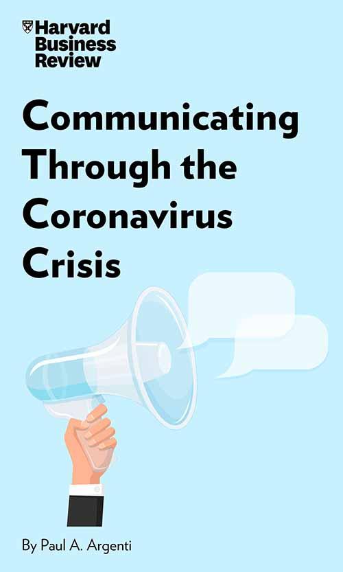 "Book Cover for ""Communicating Through the Coronavirus Crisis"""