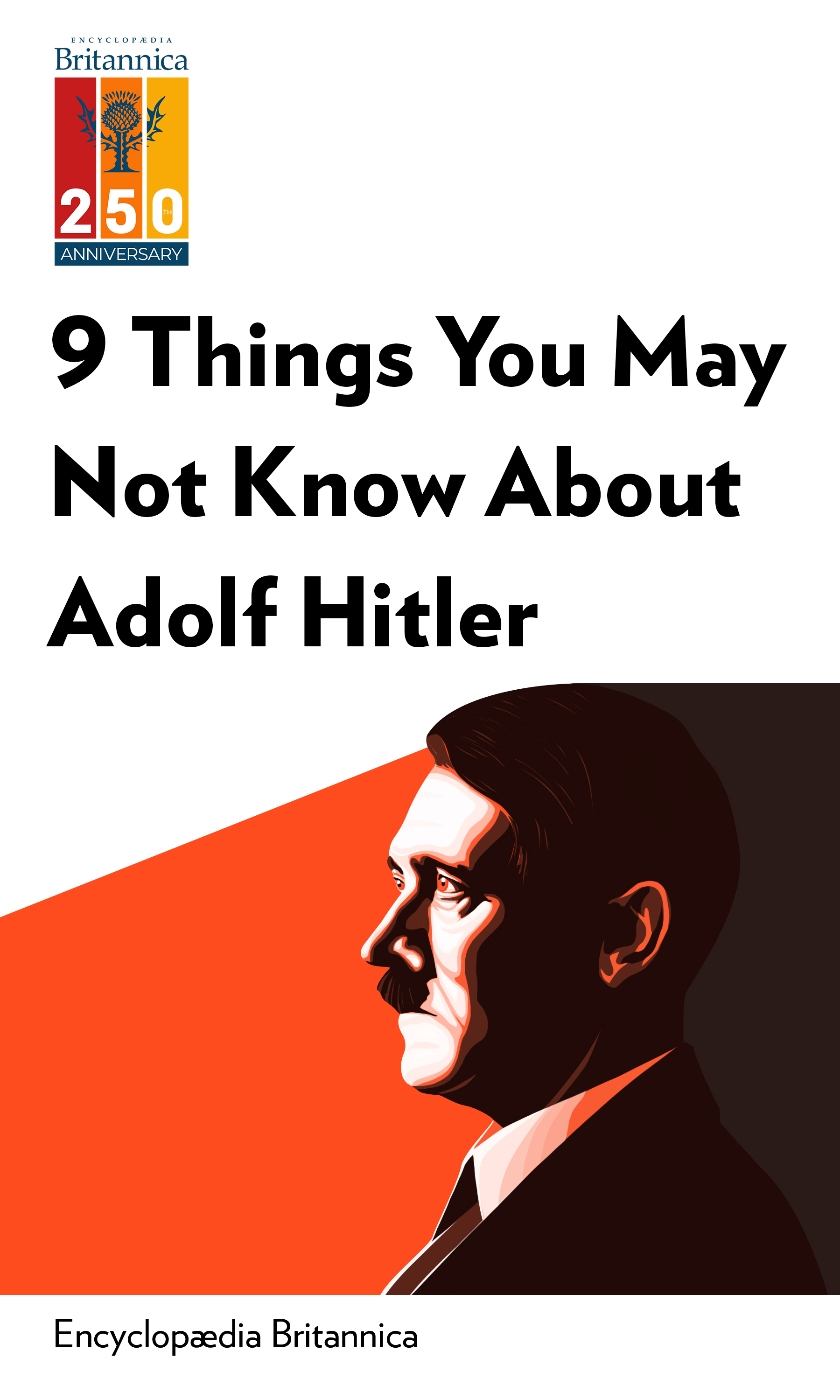 """Book Cover for """"9 Things You Might Not Know About Adolf Hitler"""""""
