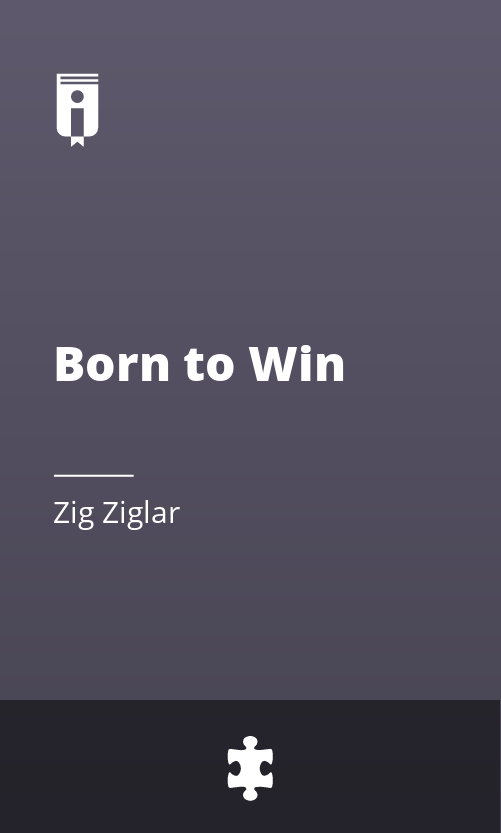 "Book Cover for ""Born to Win"""