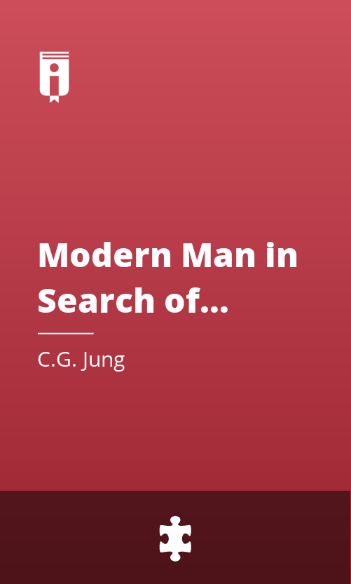 """Book Cover for """"Modern Man in Search of a Soul"""""""