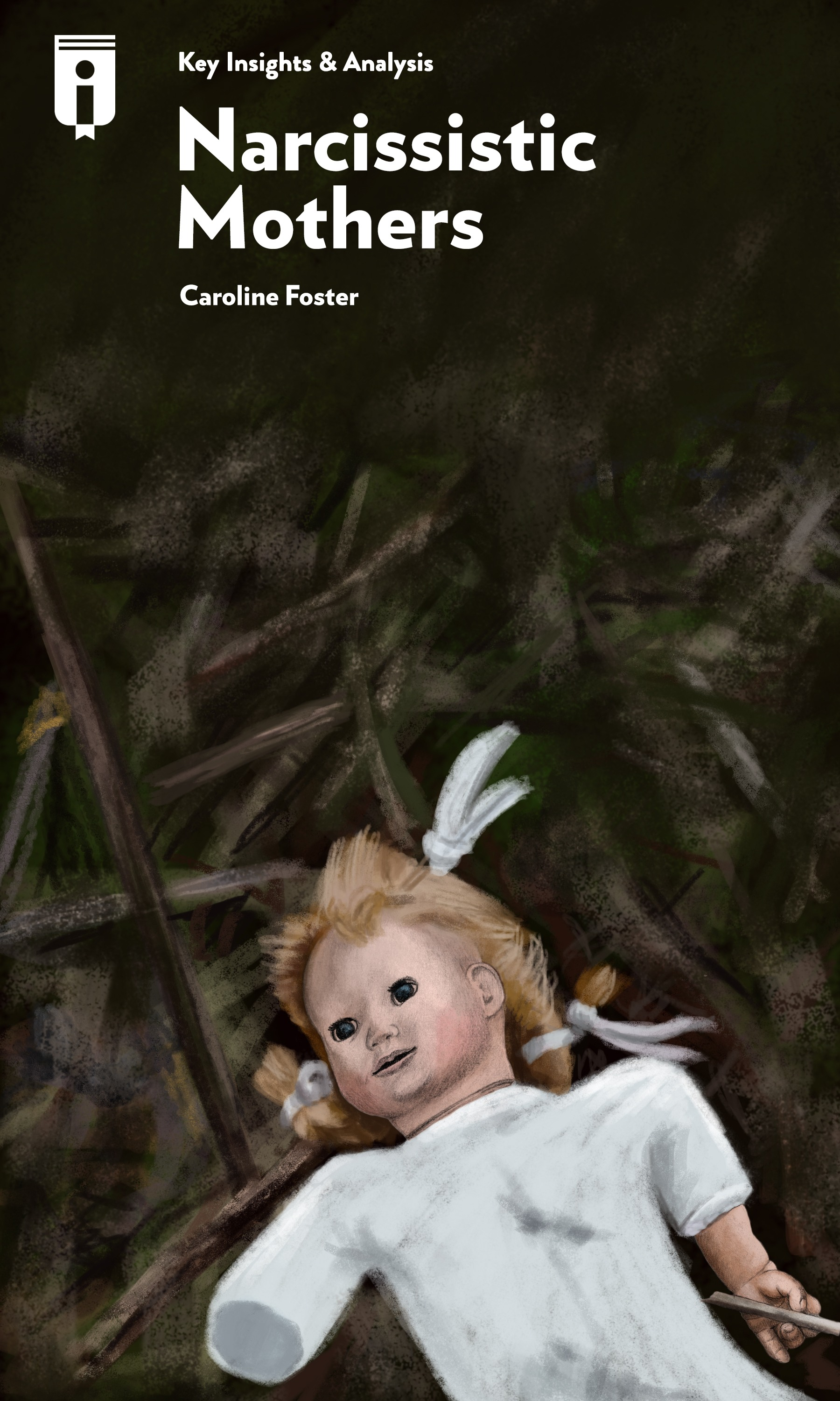 "Book Cover for ""Narcissistic Mothers"""