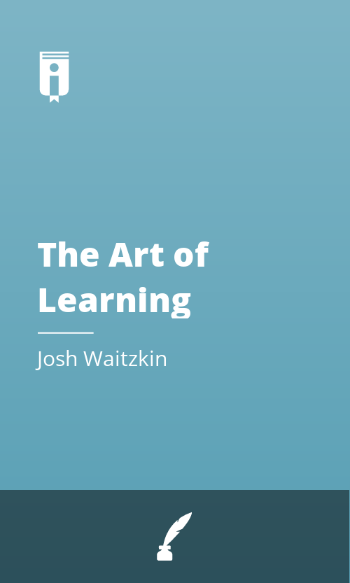 """Book Cover for """"The Art of Learning"""""""