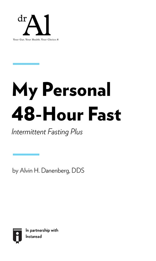 "Book Cover for ""My Personal 48-Hour Fast Intermittent Fasting Plus"""