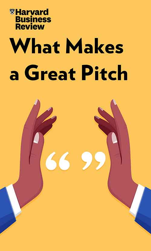 "Book Cover for ""What Makes a Great Pitch"""