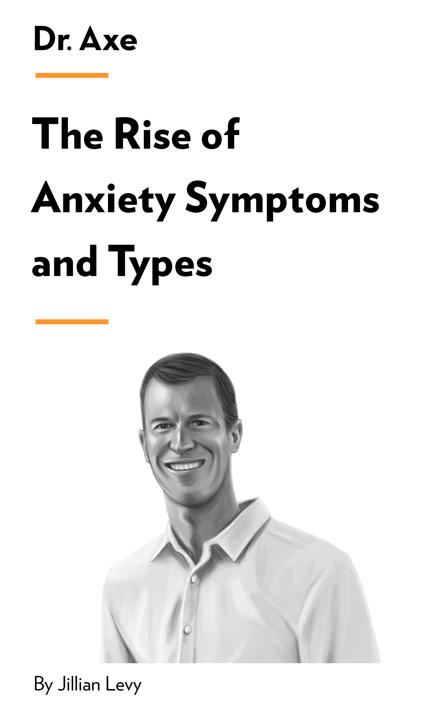 """Book Cover for """"The Rise of Anxiety Symptoms and Types"""""""