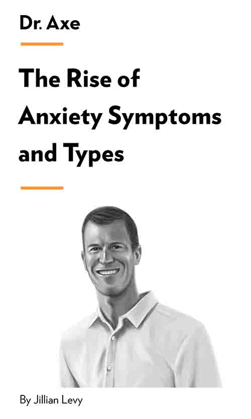 "Book Cover for ""The Rise of Anxiety Symptoms and Types"""