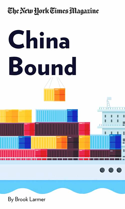 "Book Cover for ""China Bound"""