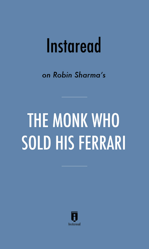 "Book Cover for ""The Monk Who Sold His Ferrari"""