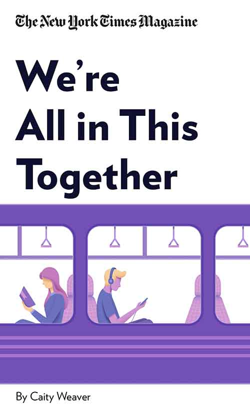 "Book Cover for ""We're All in This Together"""