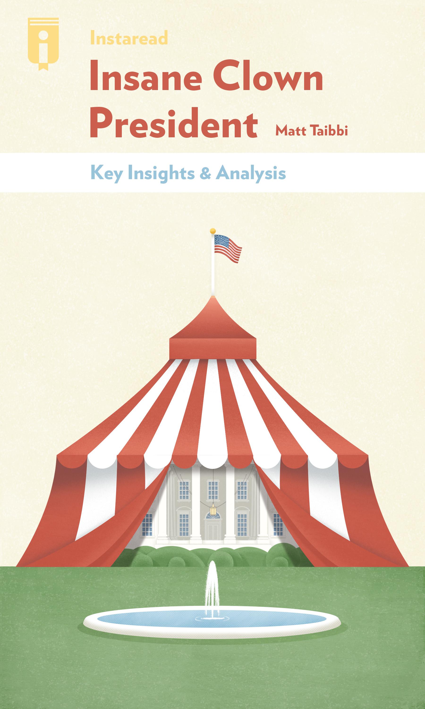 """Book Cover for """"Insane Clown President"""""""